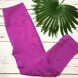 {Lululemon} sz 8 ultra violet Zone in Crops